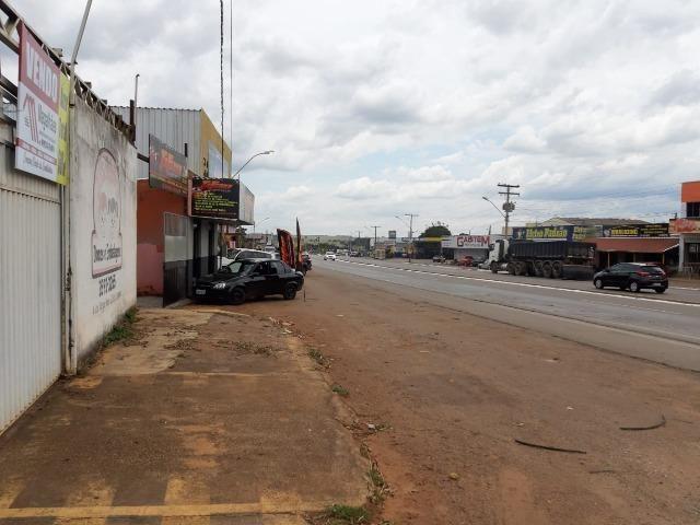 600 metros quadrados área 100% comercial de frente para GO 070 em Goianira urgente ! - Foto 2
