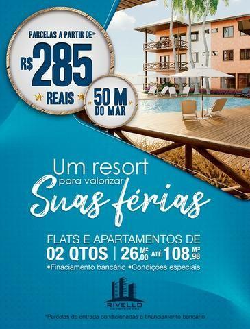 Flats e Apartamentos de 02 Quartos em Luís Correia - Foto 2