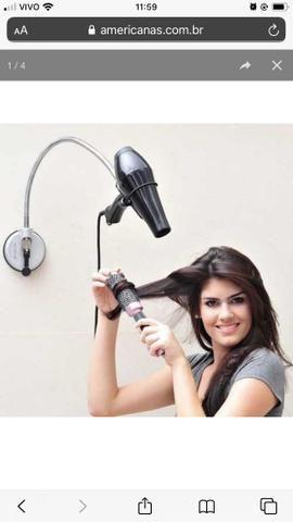 Suporte para secador cabelo