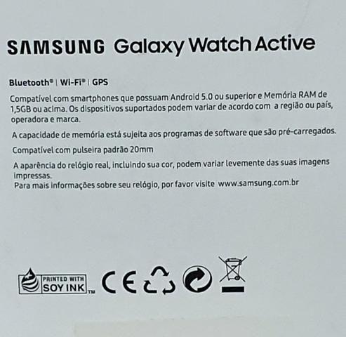Relógio Samsung active watch - Foto 3