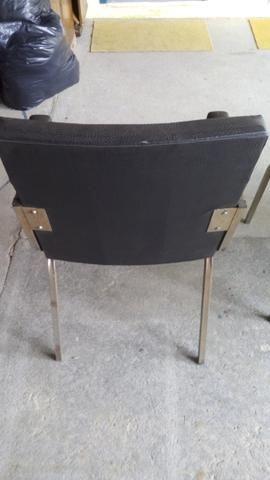 Cadeiras com base fixa - Foto 5