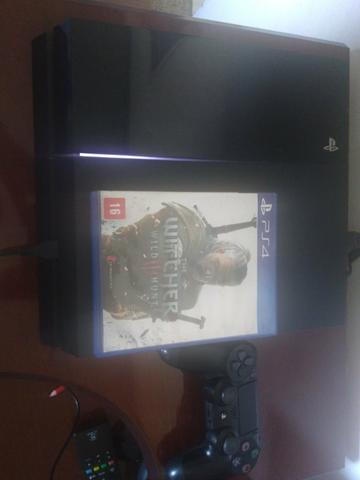 PS4 + the witcher 3