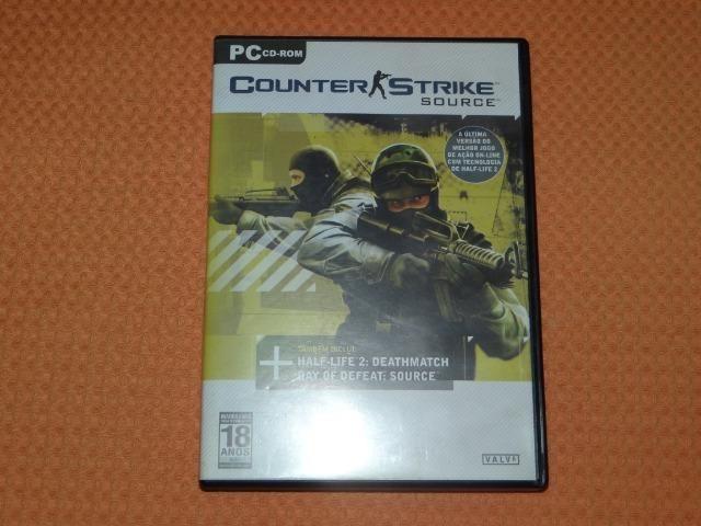 Jogo para PC Counter Strike Source Original