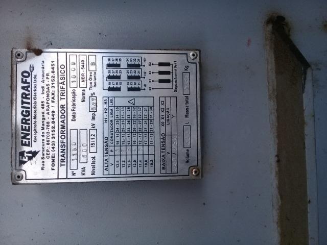 Transformador trifasico de 500 kwar
