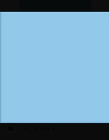 100 peças revestimento azul para piscina 15x15 novo sem uso