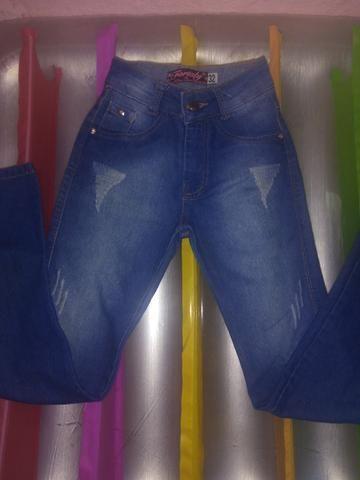 Calça jeans infantil número 32