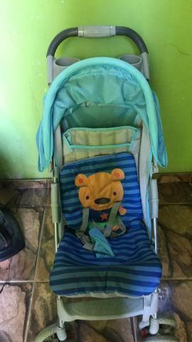 Carrinho bebê pouco usado 983891065