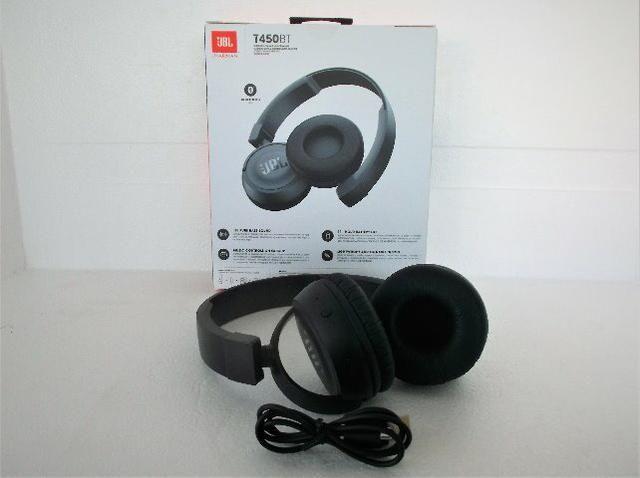 c9844d834 Fone da Jbl T450bt Original Preto-Conectividade Bluetooth