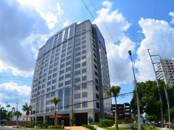 Sala Edifício The Office, 33m² climatizada, andar alto, Adrianópolis