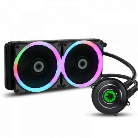 Watercooler Gamemax Iceberg 240 Rainbow Intel-AMD - Loja Fgtec Informática
