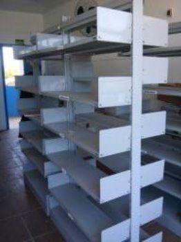 Estantes Duplas de Biblioteca em Alvorada Torro por 500 Peça o Video