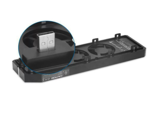 Cooler Externo Com 3 Ventoinhas Fan Para Console Xbox One - Foto 3