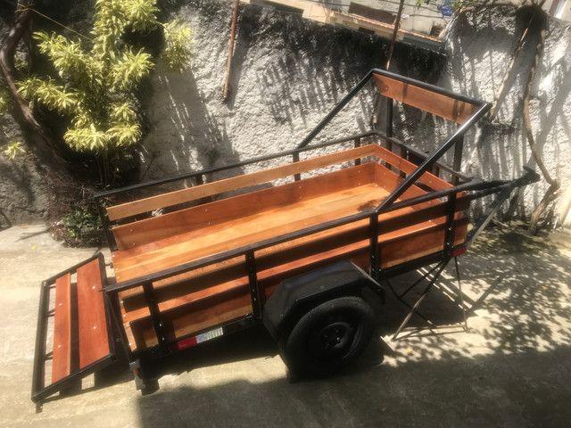 Carretinha para transporte de carga - Foto 2