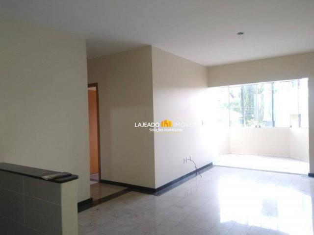 Apartamento com 2 dormitórios para alugar, 70 m² por R$ 800/mês - Alto do Parque - Lajeado - Foto 3