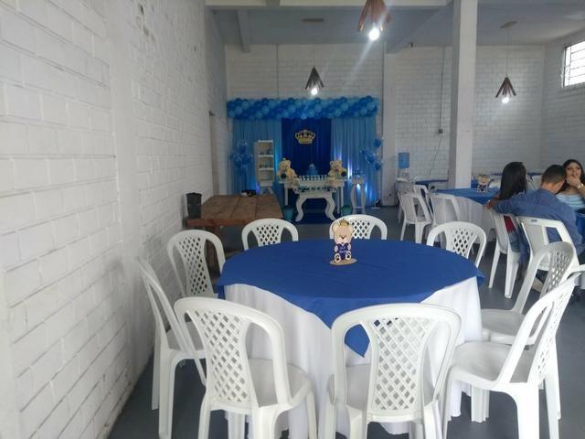 Barbada Mesas e cadeiras salão de festas - Foto 3