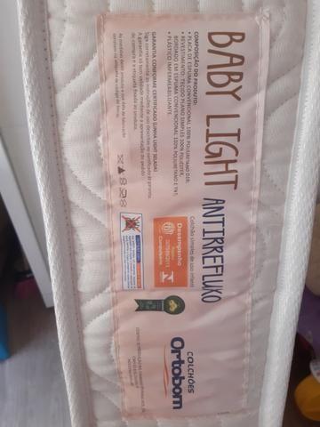 Vendo colchão infantil ortobom antirrefluxo