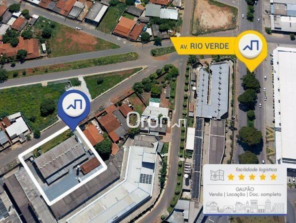 Galpão à venda, 1400 m² por R$ 2.000.000,00 - Jardim Helvécia - Aparecida de Goiânia/GO - Foto 11