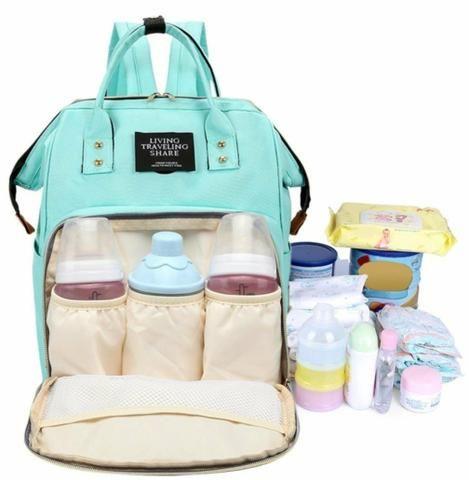 Bolsa mochila Amamentação maternidade - Foto 5