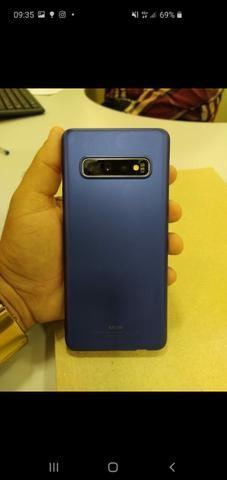 Show de Oportunidade Samsung S10,Novíssimo,c/garantia ,nota e acessórios - Foto 4