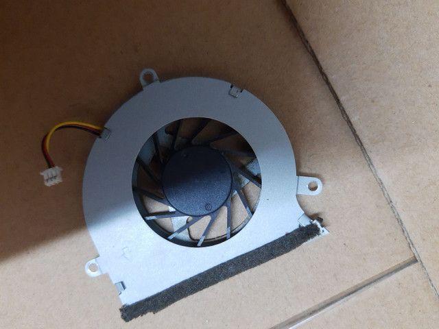 Placa mãe CCE Ultra Thin S23, placa wi-fi, placa áudio, alto falantes, cooler - Foto 4