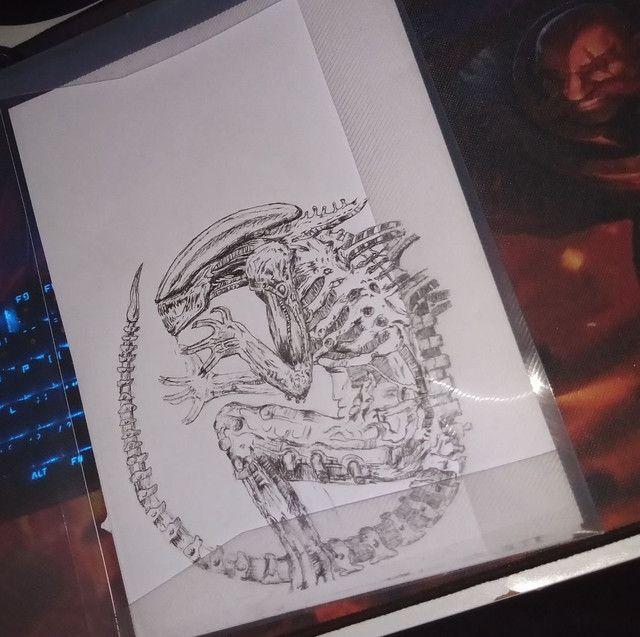 Vendo desenhos e faço desenhos - Foto 2