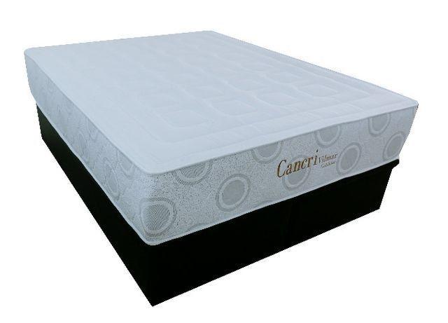 Conjunto Colchão Cancri D45 mais cama baú bipartida - casal padrão - Foto 2
