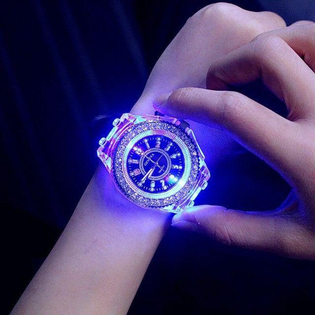 Relógio de Led Luminoso
