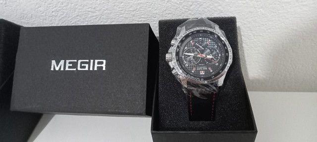 Megir Casual Relógio Polonês Original com certificado - Foto 5