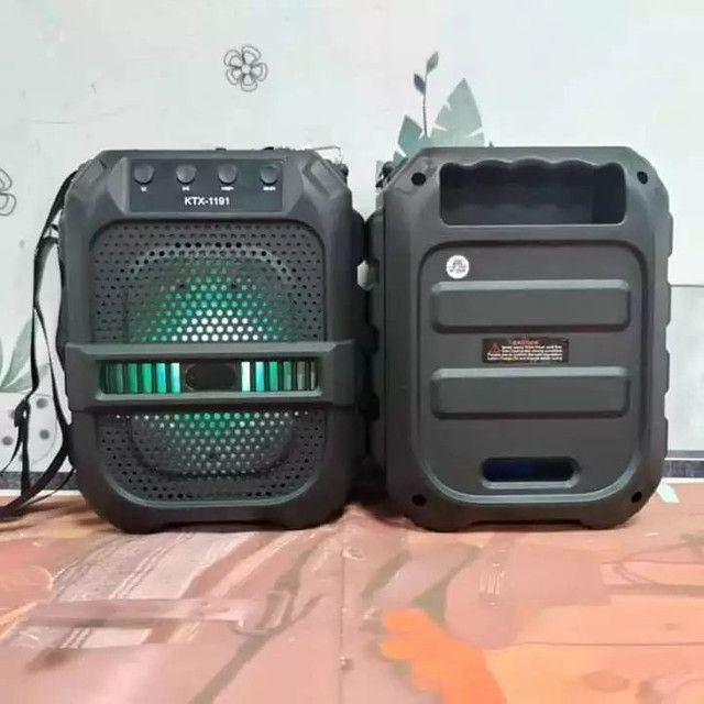 Caixa de Som Bluetooth Com Alça  - Foto 2