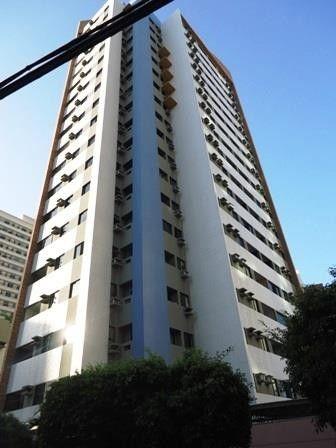 Apartamento com 3 dormitórios para alugar, 77 m² por R$ 1.500,00/mês - Meireles - Fortalez