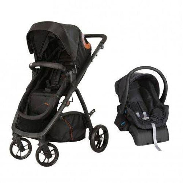Carrinho 3 EM 1 - Maly Dzieco com bebê conforto e base