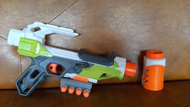 Nerf módulos com 5 dardos  - Foto 2
