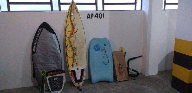 Prancha Skimboard, Surf, bodyboard e adaptador para transportar prancha na bicicleta - Foto 6