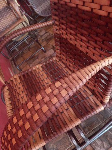 Cadeiras de balanço 4 molas - Foto 3