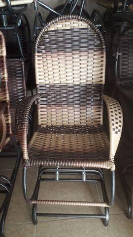 Cadeiras de balanço 4 molas