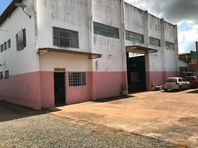 Galpão as margens BR 070 COM 2.100 Metros Escriturado