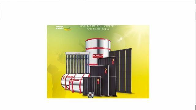 Venda e instalação de equipamentos solar, boiler e placas