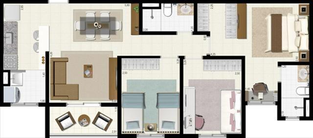 Apartamento para Vender 72 m2