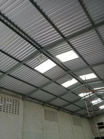 Montagem calhas de zincos e alumínios e telhados fabricação peças de inox - Foto 3
