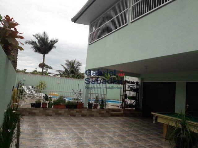 Sobrado com piscina e 4 dormitórios, 1 suítes com ar. locação diária, 135 m² por r$ 1.000, - Foto 4