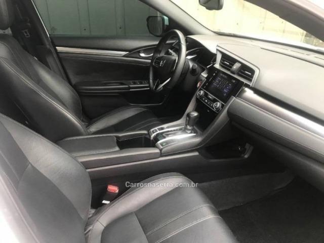 Civic 1.5 16v turbo touring cvt - 63 mil kms automático único dono - Foto 11