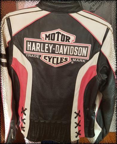 Jaqueta couro Harley Davidson - Foto 2
