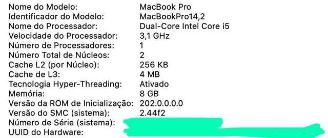 "Macbook Pro touchbar 13"" apenas 8.399,00 - Foto 6"