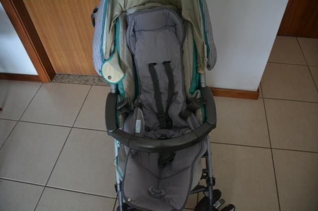 Carrinho de bebê da PegPerego + capa confortável - Foto 4