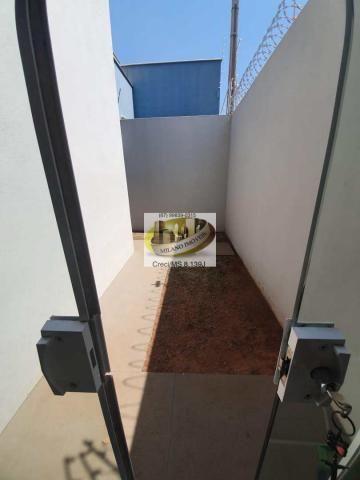 Casa à venda com 3 dormitórios em Parque são carlos, Três lagoas cod:408 - Foto 12