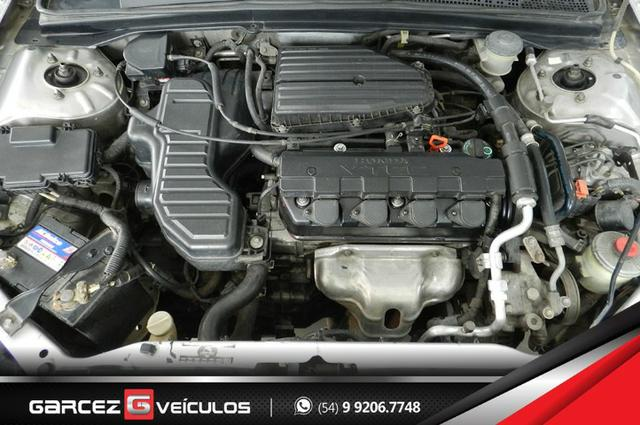 Honda Civic EX 1.7 Automático Completíssimo Legalizado Baixo - Foto 8