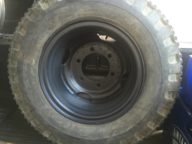 Roda aro 16 c/pneu 750 - Foto 2