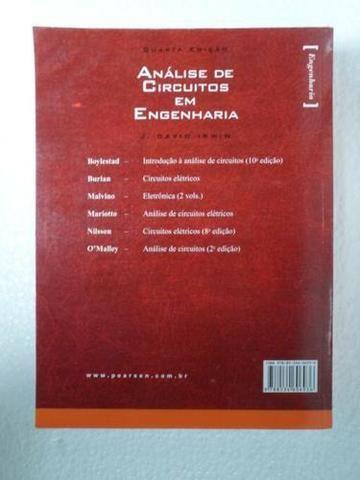 Análise De Circuitos Em Engenharia - J. David Irwin - 4ª Edição - 2008 - Foto 3