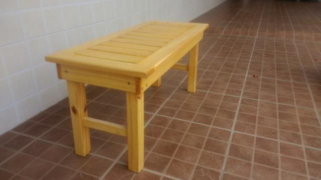 Banco de madeira maciça - Foto 6