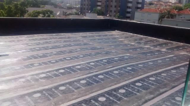 Impermeabilizações em telhados e terraço com manta asfaltica - Foto 3